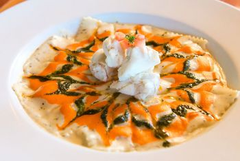 The Paper Canoe Outer Banks Restaurant, Paper Canoe Ravioli